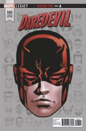 Daredevil #595 McKone Legacy Headshot Variant