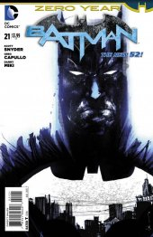 Batman #21 Jock Cover