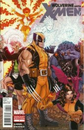 Wolverine and the X-Men #1 Bradshaw Variant