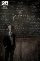 The October Faction #1 Subscription Variant
