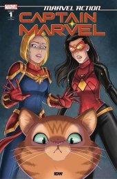 Marvel Action: Captain Marvel #1 1:10 Cover Garcia