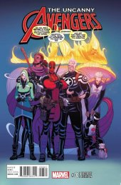 Uncanny Avengers #3 Moore Variant