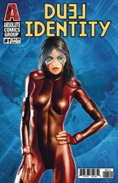 Duel Identity #1 Holographic Gold Foil Cover
