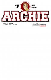 Archie #1 Blank Sketch Cover