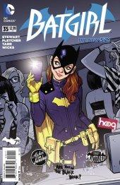 Batgirl #35 Original Cover