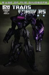 Transformers: Prime - Rage of the Dinobots #4 1:25 Retail Incentive B