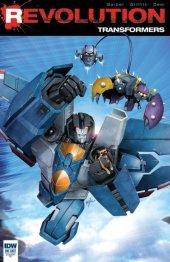 Transformers: Revolution #1 Incentive Variant