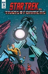 Star Trek vs. Transformers #3 Cover B Fullerton