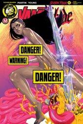 Vampblade: Season 4 #6 Cover F Amalgama Cat Fight Risque