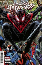 The Amazing Spider-Man #34 Arthur Adams Connecting Variant