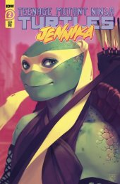 Teenage Mutant Ninja Turtles: Jennika #2 1:10 Incentive Variant