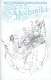 Lady Mechanika: The Clockwork Assassin #3 Cover C Benitez Sketch Incentive