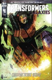 Transformers: Galaxies #4
