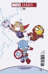 Marvel Legacy #1 Skottie Young Variant
