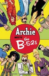Archie Meets The B-52s #1 Cover D Eisma