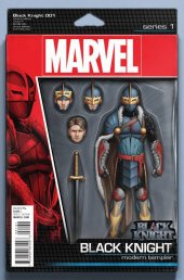 Black Knight #1 Christopher Action Figure Variant