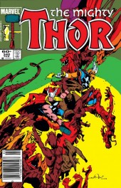 The Mighty Thor #340 Newsstand Edition