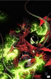 Spawn #306 Cover C Tan & McFarlane Virgin Cover