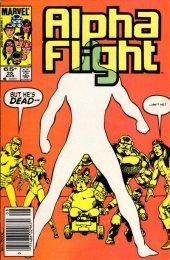 Alpha Flight #25 Newsstand Edition