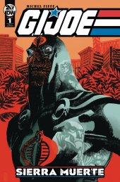 G.I. Joe: Sierra Muerte #1 1:10 Incentive