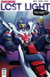 Transformers: Lost Light #11 Original Cover