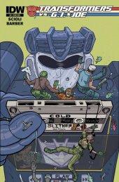 Transformers vs. G.I. Joe #5 Subscription Variant