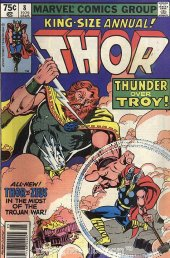 The Mighty Thor Annual #8 Newsstand Edition