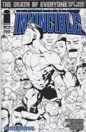 Invincible #100 COMIXOLOGY SKETCH VARIANT
