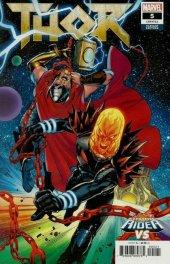 Thor #5 Lupacchino Cosmic Ghost Rider Vs. Variant