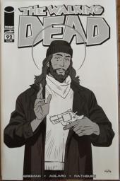 The Walking Dead #92 15th Anniversary Blind Bag Walker B&W Cover