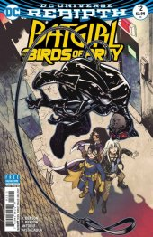 Batgirl and the Birds of Prey #12 Variant Edition