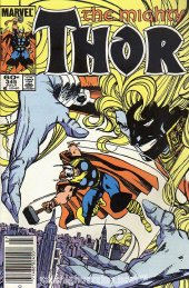 The Mighty Thor #345 Newsstand Edition