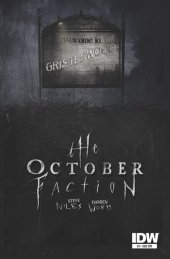 The October Faction #3 Subscription Variant