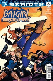 Batgirl and the Birds of Prey #3 Variant Edition