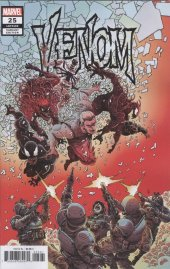 Venom #25 1:25 Incentive James Stokoe Variant