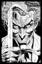Batman: Three Jokers #1 1:100 B&W Variant