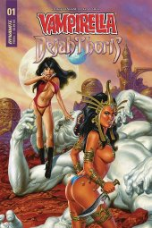 Vampirella / Dejah Thoris #1 Cover D Jusko