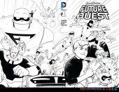 Future Quest #1 Coloring Book Variant