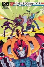 Transformers vs. G.I. Joe #5 Retailer Incentive