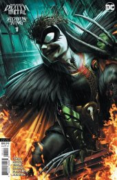 Dark Nights: Death Metal - Robin King #1 1:25 Card Stock Variant Cover by Jeremy Roberts