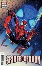 Spider-Geddon #1 1:50 Incentive George Pérez Variant