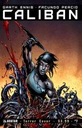 Caliban #7 Terror Cover