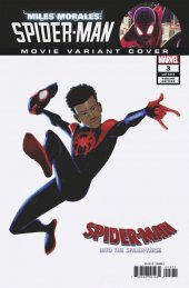 Miles Morales: Spider-Man #3 Movie Variant