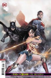 Justice League #32 Card Stock Variant Edition