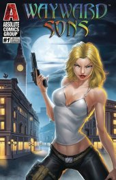 Wayward Sons #1 White Widow Cover