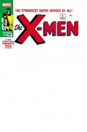 The X-Men #1 Facsimile Edition Unknown Comic Books Exclusive Blank Variant