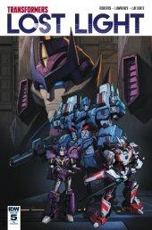 Transformers: Lost Light #5 RI Cover
