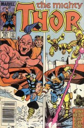 The Mighty Thor #357 Newsstand Edition