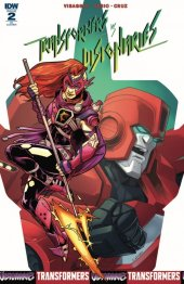 Transformers Vs. The Visionaries #2 RI Cover