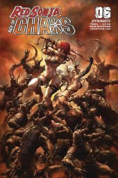 Red Sonja: Age of Chaos #6 Cover B Quah